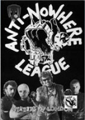 ANTI NOWHERE LEAGUE - STREET OF LONDON POSTER