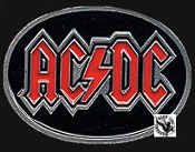 AC/DC - OVAL BELT BUCKLE
