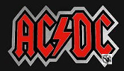 AC/DC - AC/DC RED LETTER BELT BUCKLE