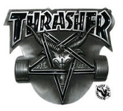 BELT BUCKLE - THRASHER BELT BUCKLE