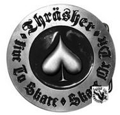 BELT BUCKLE - THRASHER SKATE OR DIE BELT BUCKLE