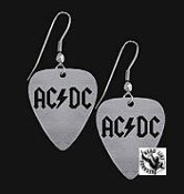 AC/DC - AC/DC GUITAR PICK EARRING