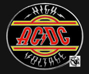AC/DC - HIGH VOLTAGE TRAILER HITCH COVER