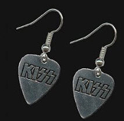KISS - KISS GUITAR PICK EARRING