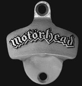 MOTORHEAD - LOGO WALL MOUNTED BOTTLE OPENER