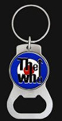 WHO - LOGO COIN BOTTLE OPENER / KEY CHAIN