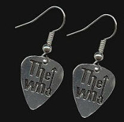 WHO - LOGO GUITAR PICK EARRING