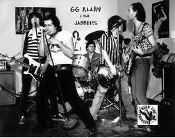 GG ALLIN & THE JABBERS - LIVE PICTURE POSTER