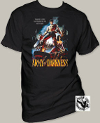 "MOVIE TEE SHIRT - ARMY OF DARKNESS ""TRAPPED IN TIME"""