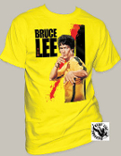 "MOVIE TEE SHIRT - BRUCE LEE ""BLOOD"""