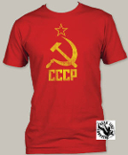 POP CULTURE TEE SHIRT - HAMMER & SICKLE
