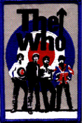 WHO - BAND W/ TARGET PATCH