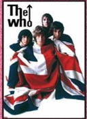 WHO - FLAG WITH BAND POSTER