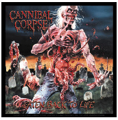 CANNIBAL CORPSE - EATEN BACK TO LIFE STICKER
