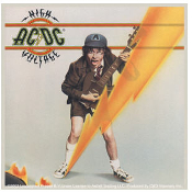 AC/DC - HIGH VOLTAGE STICKER