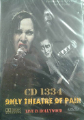 CD 1334 - ONLY THEATRE OF PAIN DVD