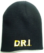 D.R.I - LOGO (WITHOUT RED CIRCLE) BEANIE