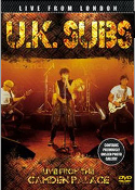 UK SUBS - LIVE FROM THE CAMDEN PALACE DVD