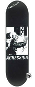AGRESSION - COP SKATEBOARD