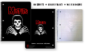MISFITS - CROSS ARM SPIRAL NOTEBOOK