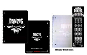 DANZIG - LOGO SPIRAL NOTEBOOK + PENCILS (BUNDLE)