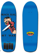 BLACK FLAG - MY WAR SKATEBOARD