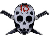 EMBROIDERED PATCH - RAIDER 13 PATCH