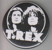 T REX - MARK BOLAN PICTURE BUTTON / BOTTLE OPENER / KEY CHAIN /