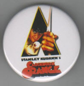 BIG BUTTON - CLOCKWORK ORANGE / BOTTLE OPENER / KEY CHAIN /