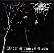 DARKTHRONE - UNDER A FUNERAL MOON WOVEN PATCH