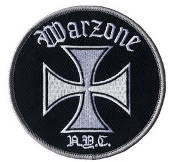 WARZONE - NYC WITH IRON IRON CROSS EMBROIDERED PATCH