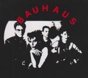 BAUHAUS - BAND PICTURE STICKER