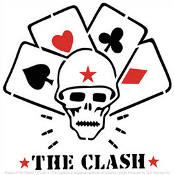 CLASH - SKULL & CARDS STICKER