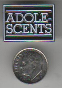 ADOLESCENTS - ADOLESCENTS ENAMEL PIN BADGE