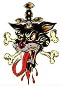 ALAN FORBES STICKER - FAST CAT