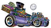 VON FRANCO STICKER - COFFIN HAULER