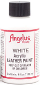 WHITE ACRYLIC LEATHER PAINT