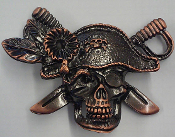 BELT BUCKLE - PIRATE BELT BUCKLE