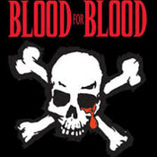 BLOOD FOR BLOOD - SKULL BANNER FLAG