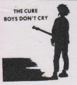 CURE - BOYS DON'T CRY PATCH