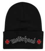 MOTORHEAD - MOTORHEAD WITH IRON CROSS BEANIE
