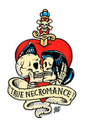 VINCE RAY STICKER - TRUE ROMANCE STICKER