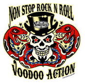 VINCE RAY STICKER - VOODOO ACTION STICKER