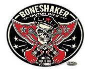 VINCE RAY STICKER - BONESHAKER MOTOR OIL STICKER