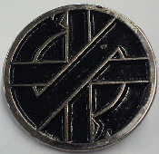 CRASS - LOGO METAL PIN