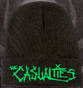 CASUALTIES - LOGO FOLD OVER BEANIE