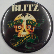 BLITZ - VOICE OF A GENERATION BUTTON / BOTTLE OPENER