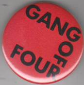 GANG OF FOUR - GANG OF FOUR BUTTON / BOTTLE OPENER / KEY CHAIN