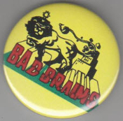 BAD BRAINS - LOGO (LION) BUTTON / BOTTLE OPENER / KEY CHAIN /