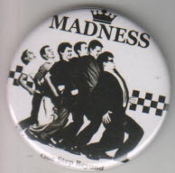 MADNESS - ONE STEP BEYOND BUTTON / BOTTLE OPENER / KEY CHAIN